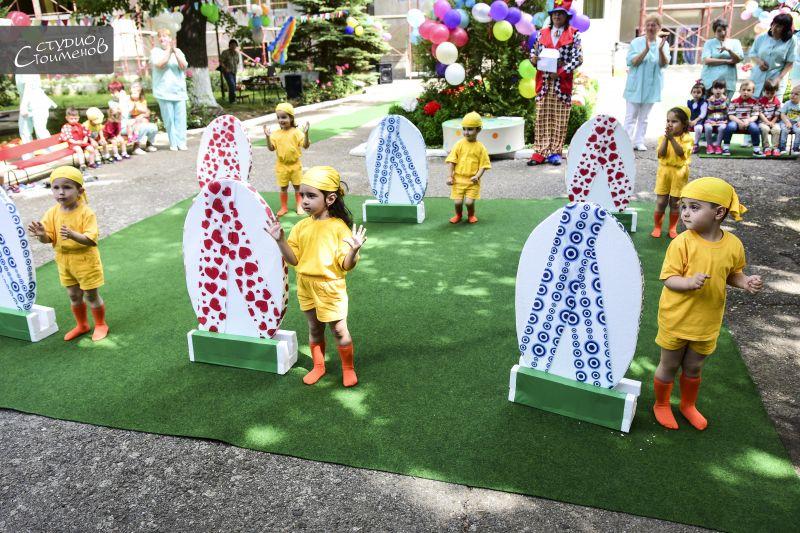 Спортен празник зарадва децата в детска ясла 14 в Сливен