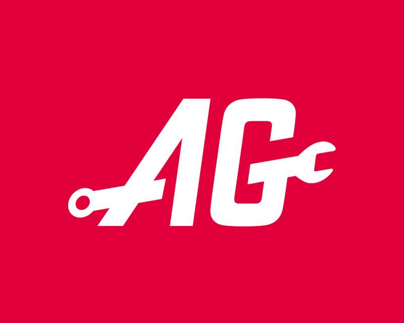 AG Truck & Trailer Logot ontwerp