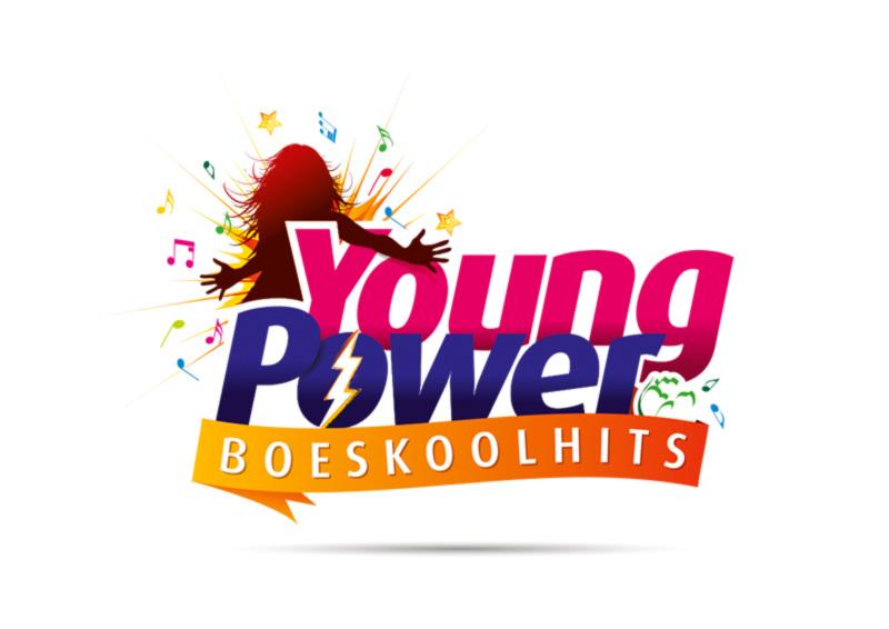 Logo Boeskool is Los Oldenzaal - Young Power Boeskoolhits - logo ontwerp door Slize