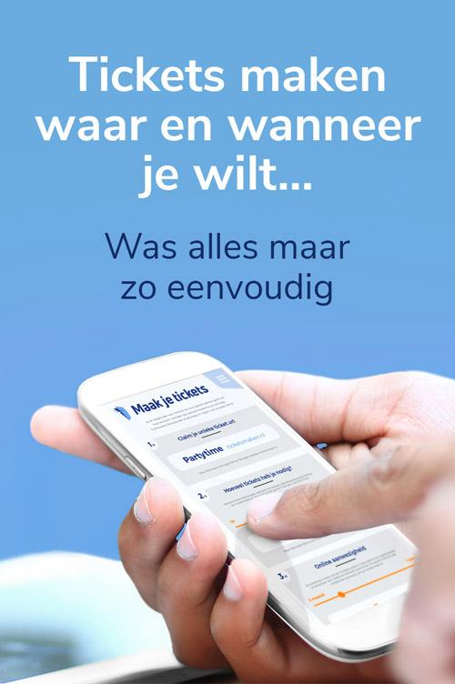 Dispaly Ad, Ticketsmaken Oldenzaal