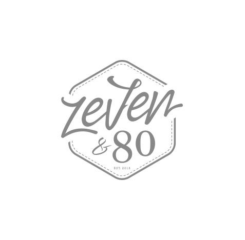 Logo creatie kapsalon Zeven en 80 - Logo ontwerp door Slize Oldenzaal