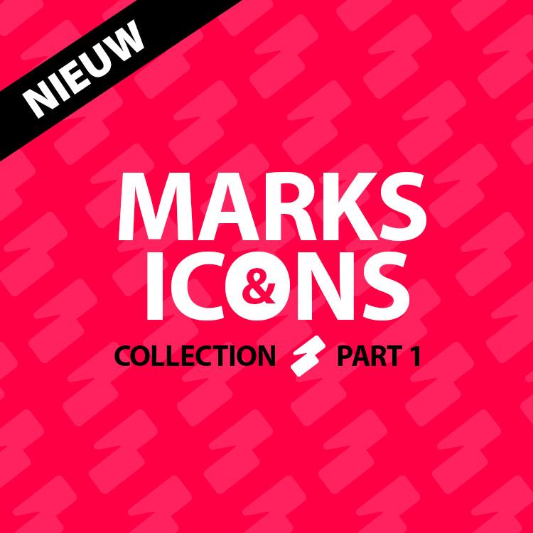 Marks & Icon collection part 1 - logo ontwerp en ontwikkeling door Slize Oldenzaal