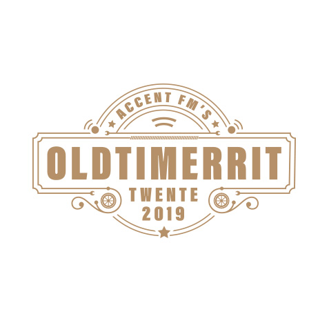 Accent FM Oldtimerrit Twente - old style logo maken | logofolio 5 SQ