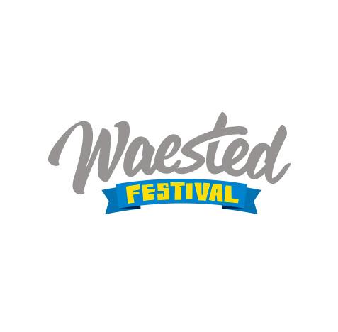Waested Festival logo creatie - logo ontwerp & event design