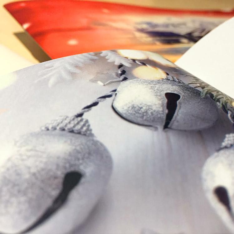 Horeca drukwerk - eerste menukaart voor de kerst