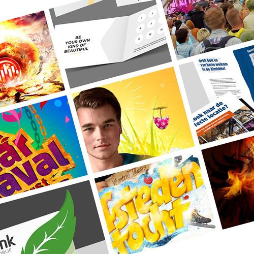 Portfolio update - nieuw grafisch ontwerp, creatie, print en drukwerk, DTP en creatie