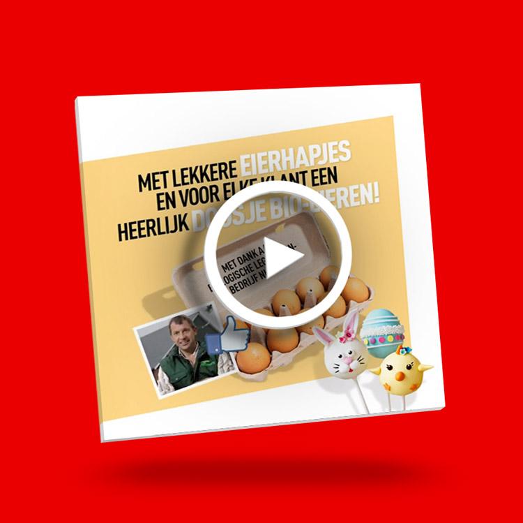 content creatie, video special - portfolio Slize Oldenzaal - social postings, visuals & creatie