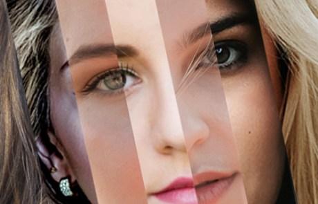 Grafische beeldbewerking - gezichten samenvoegen en retoucheren