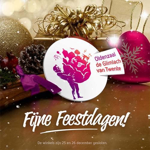 Content creatie voor SOBO centrum Oldenzaal - fijne feestdagen social post