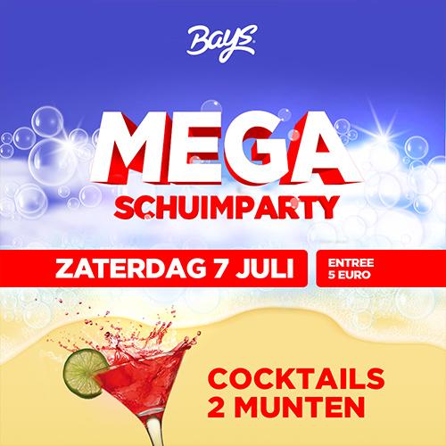 bays reutum - mega schuimparty social media event visual
