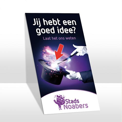 Goed idee! - Stadsnoabers Oldenzaal, ontwerp voor social media