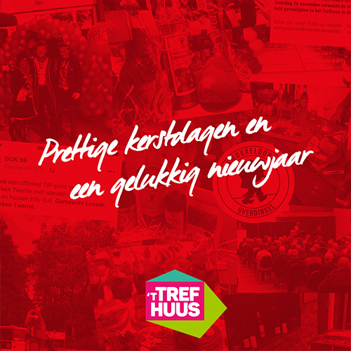 prettige kerstdagen Trefhuus Overdinkel - kerstgroet social media post bedankje