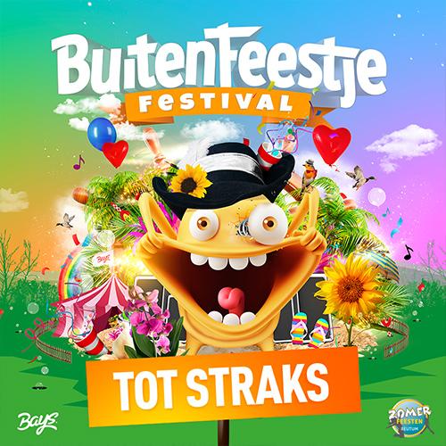 Buiten Feestje Festival 2018 - social media posting 'vandaag'