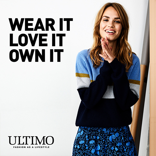 ultimo mode fashion - wear it love it own it - social media content visual