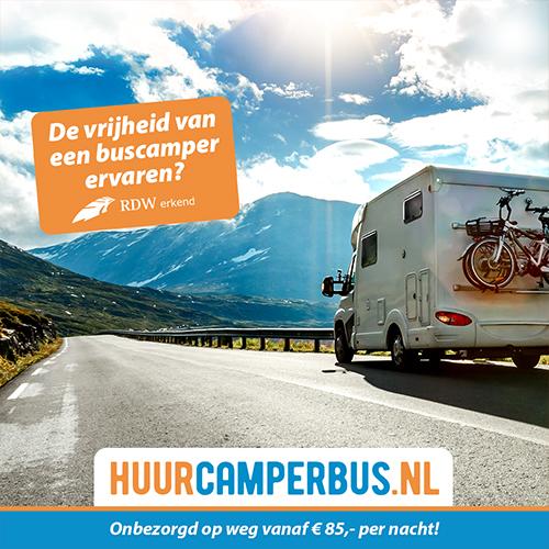 Porfolio social media vormgeving Deurningen | huur camper bus (buscamper)