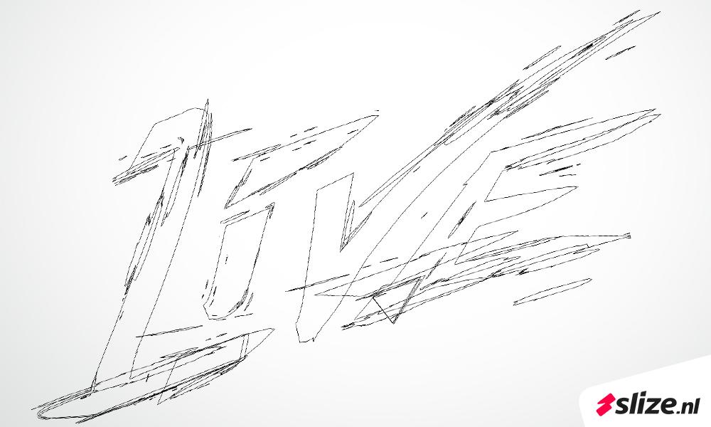 Tekenen in illustator, zelf letters maken