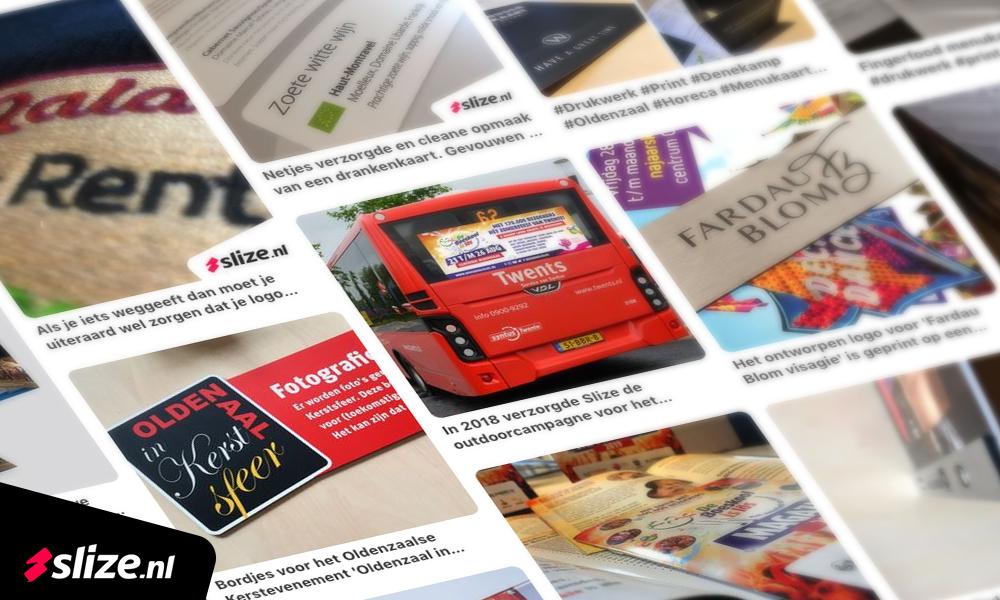 Social media jaarplanning - screenshot pinterest publicaties