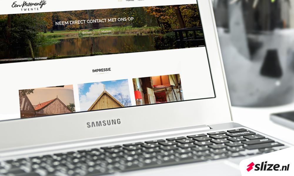 Website laten maken, ontwerp en realisatie voor nieuwe startende ondernemer