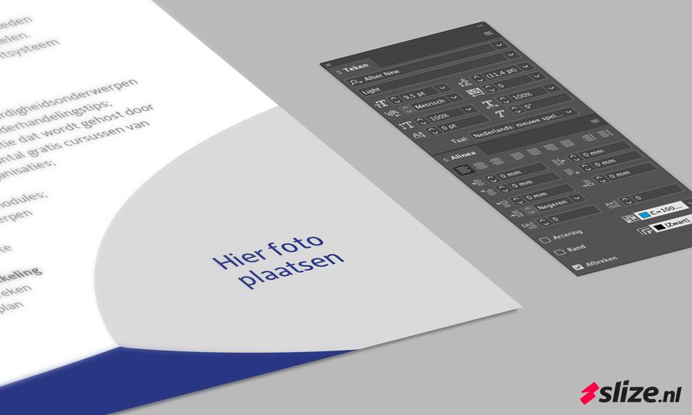 Brochure opmaken, grafische vormgeving en DTP Enschede