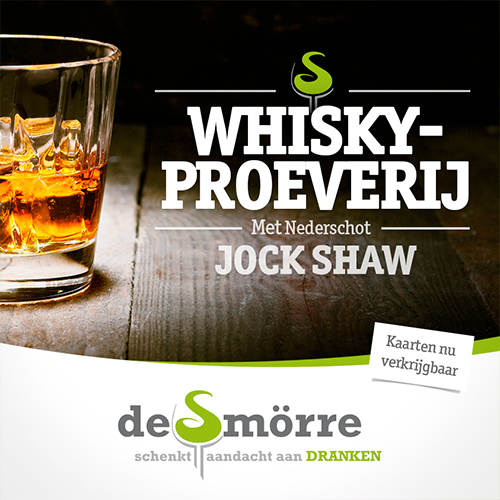 Whiskyproeverij Oldenzaal - Facebook afbeelding maken voor De Smörre. Ook prominent online zichtbaar.