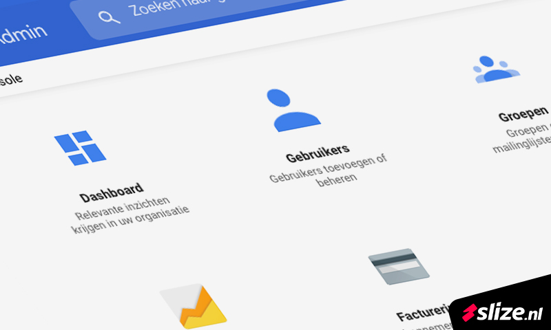 Google admin - email onderhoud en email beheer voor klanten.