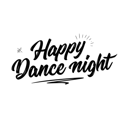 Happy Dance Night | Logo ontwerp Denekamp