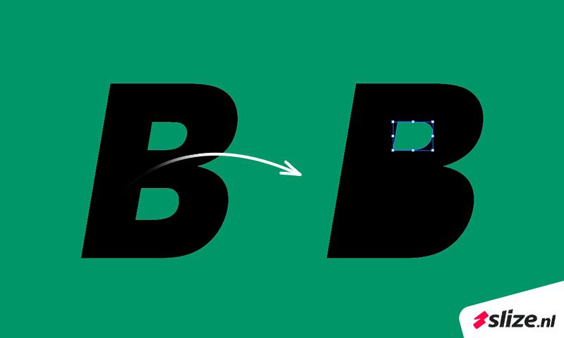 Letters dicht maken en ankerpunten verwijderen in adobe illustrator