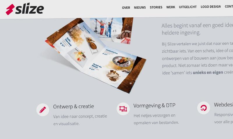 Nieuwe website maken - Slize Oldenzaal, webdesign