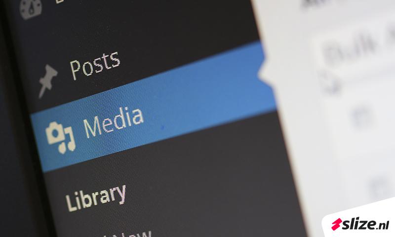 Wordpress add media menu