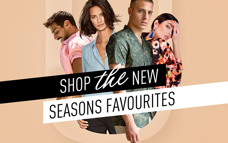Reclame visual Oldenzaal - Shop the new seansons favourites