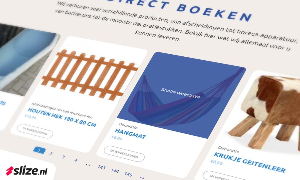Wordpress webshop maken - ontwerp en realisatie Slize Oldenzaal