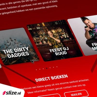 Nieuw webdesign laten maken - Website Nexus Bookings Oldenzaal