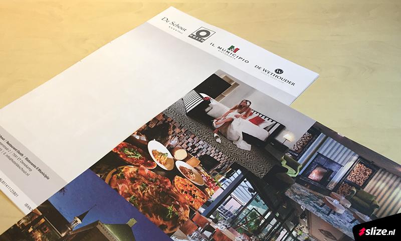 Briefpapier op dik papier drukken met foto's op de achterkant - Drukwerk Denekamp (Twente)