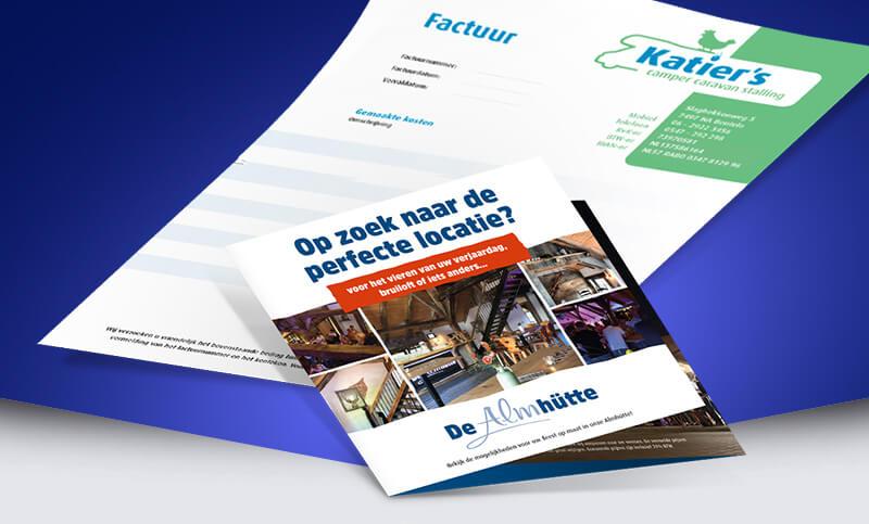 Grafische vormgeving en creatieve DTP   Oldenzaal - Twente
