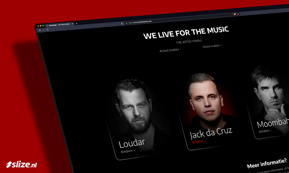 Zwarte website maken - Webdesign Oldenzaal (Twente)
