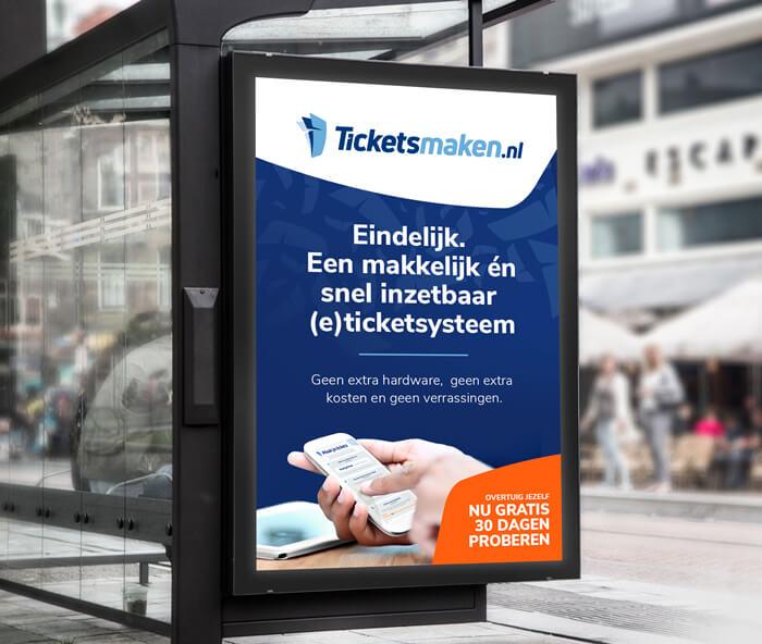 Huisstijl ontwerpen - Tickets maken Oldenzaal