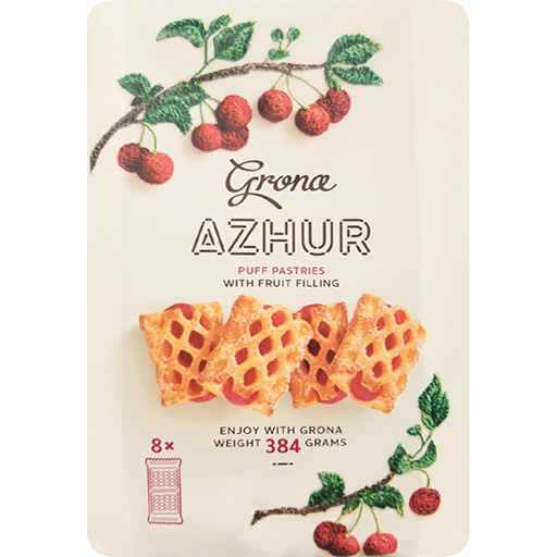 Grona Azhur puff