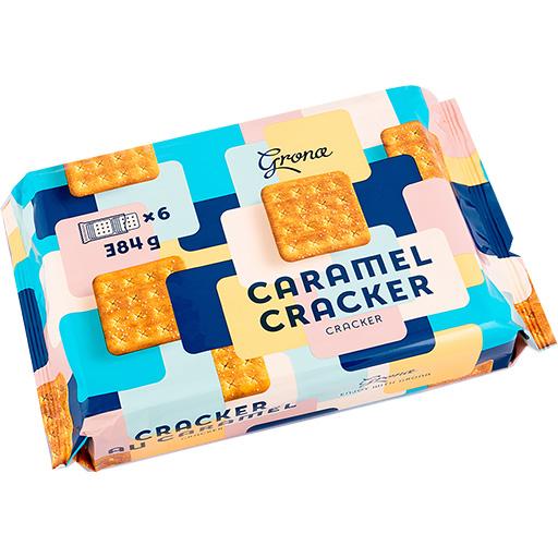 Grona Caramel Cracker-PNG