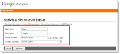 Google Analytics Blogger Step 3