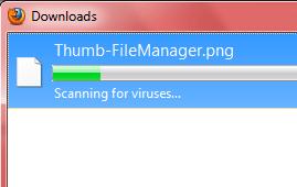 Firefox scan