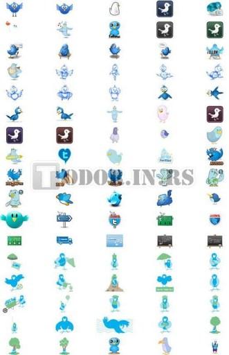80+ neuobičajenih besplatnih Twitter ikonica