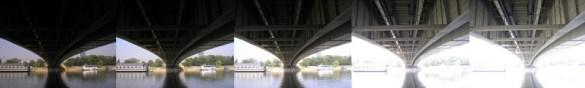 Primer: ispod brankovog mosta, uzorci