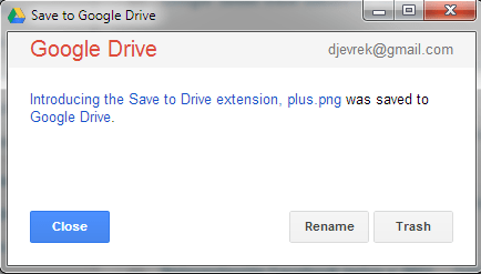 google drive chrome