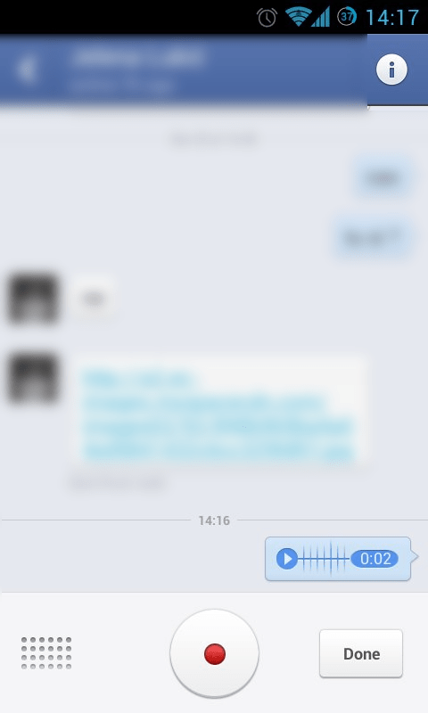 fb messenger voice