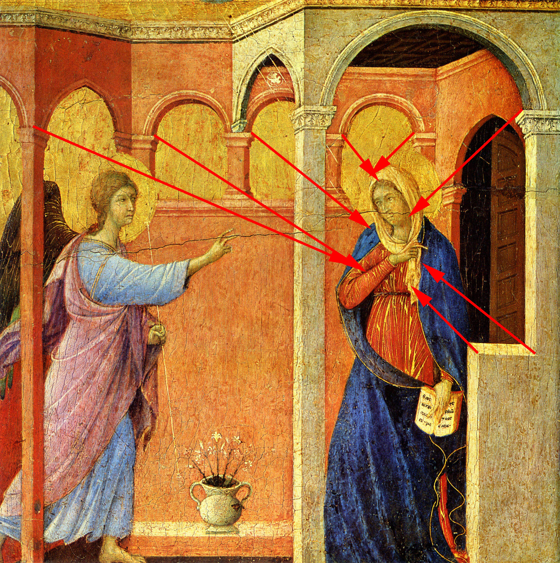 Historic Setting And Formalysis Of Annunciation Themed Paintings Done During The