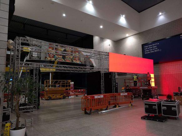 World Travel Market LED Archway 1