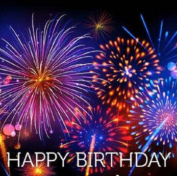 Second Life Marketplace Happy Birthday Fireworks Wall Art
