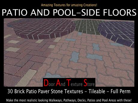 dats brick patio floor textures stone