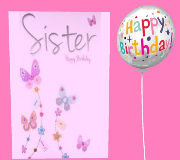 Second Life Marketplace Birthday Card Happy Birthday To My Sister