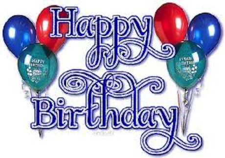 Second Life Marketplace Happy Birthday Red Blue Balloons